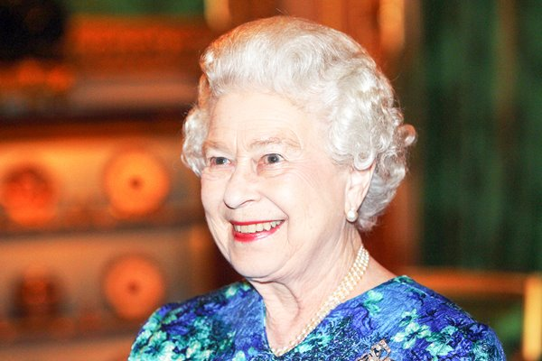 The Queen delight at Royal Engagement