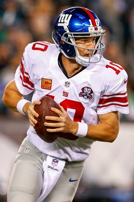 Eli Manning - Giants v  Eagles