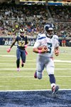 Russell Wilson Seattle Seahawks v St. Louis Rams Canvas