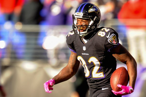 Falcons v Ravens - Torrey Smith 2014