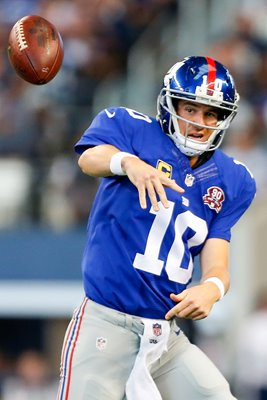 Eli Manning - Giants v Dallas Cowboys 2014