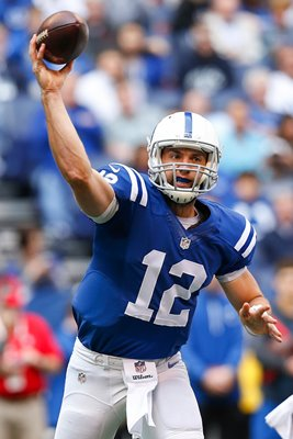 Bengals v Colts - Andrew Luck 2014