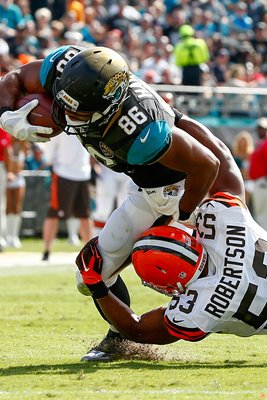 Browns v Jaguars - Clay Harbor 2014