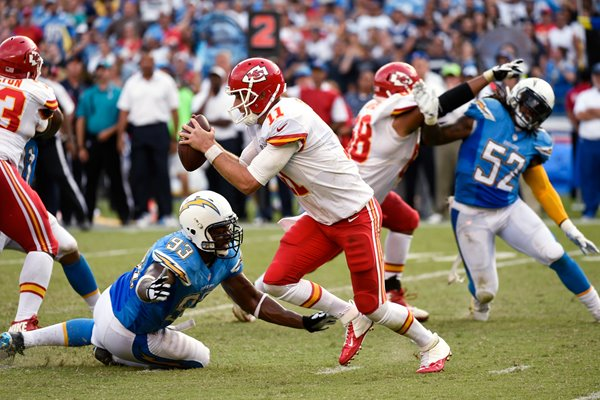 Alex Smith - Chiefs v Chargers 2014