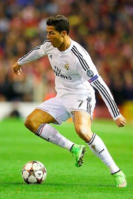 Cristiano Ronaldo Real Madrid in action