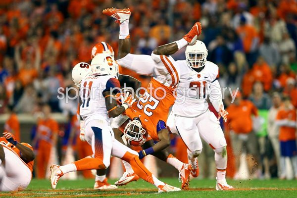 Darius Kelly Syracuse Orange v D.J. Howard Clemson Tigers