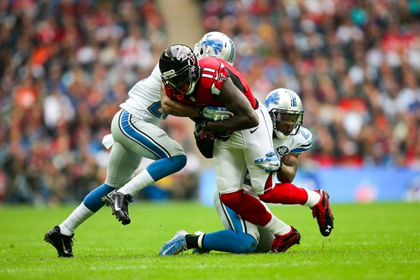 Lions v Falcons - Julio Jones Wembley 2014