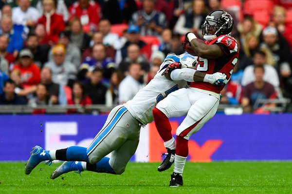 Lions v  Falcons - Antone Smith Wembley 2014