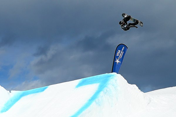 Shaun White Snowboard Slopestyle Colorado 2013