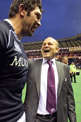 Andy Robinson & Nathan Hines - Scotland v South Africa