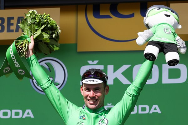 Mark Cavendish Green Jersey Stage 1 Tour 2016