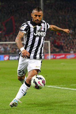 Arturo Vidal Juventus FC in action
