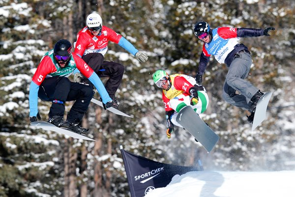 Snowboard Cross World Cup 2013 Lake Louise
