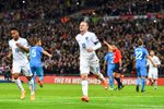 England v Slovenia Wayne Rooney Wembley 2014 Prints