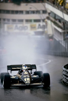Nigel Mansell Grand Prix of Monaco 1984
