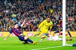 Leo Messi Barcelona New La Liga goals record! Prints
