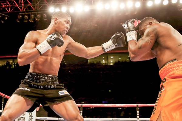 Anthony Joshua v Michael Sprot Echo Arena 2014