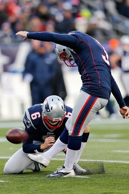 Ryan Allen kicker New England Patriots Playoffs 2014