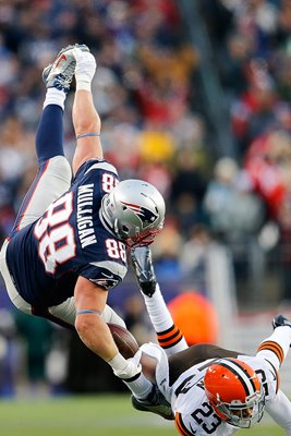 Matthew Mulligan New England Patriots #88 playoffs 2014