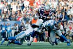 Rob Gronkowski Patriots v Lions 2014 Mounts