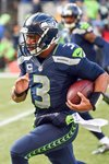 Russell Wilson Seahawks v Cardinals 2014 Prints