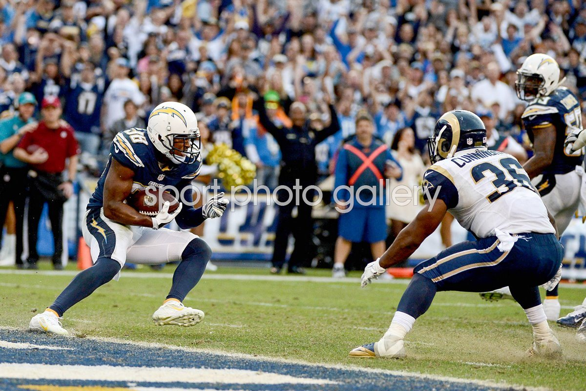 Mrcus Gilcgrist Chargers v Rams 2014