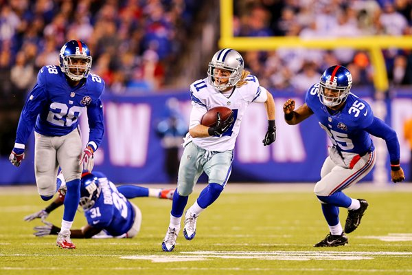 Cole Beasley Cowboys v Giants 2014