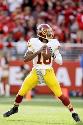 Robert Griffin III Redskins v 49ers 2014