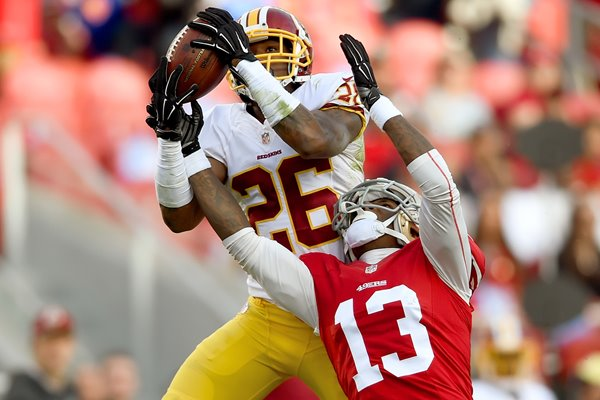 Bashaud Breeland Redskins v 49ers 2014