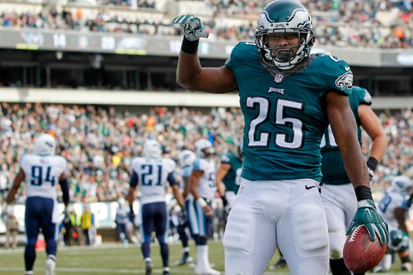 LeSean McCoy Eagles v Titans Lincoln 2014