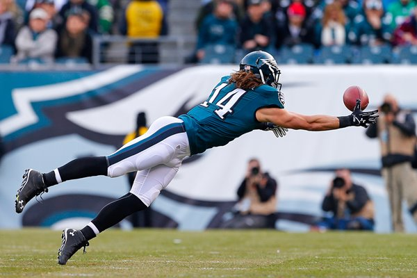 Riley Cooper Eagles v Titans Lincoln 2014