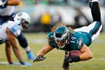 Riley Cooper Eagles v Titans 2014 Prints