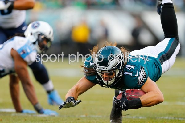 Riley Cooper Eagles v Titans 2014