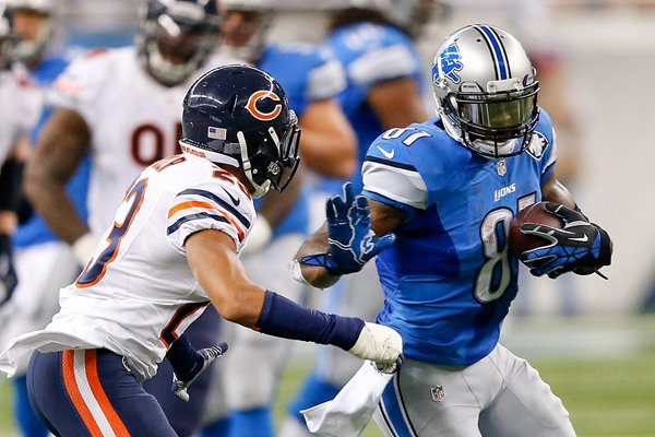 Calvin Johnson Lions v Bears Ford Field 2014