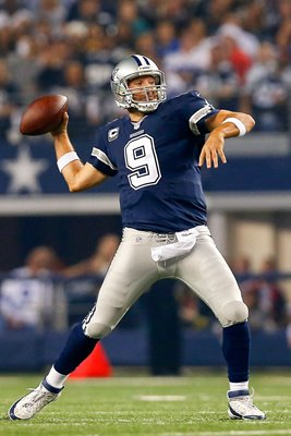 Tony Romo Cowboys v Eagles AT&T Stadium 2014