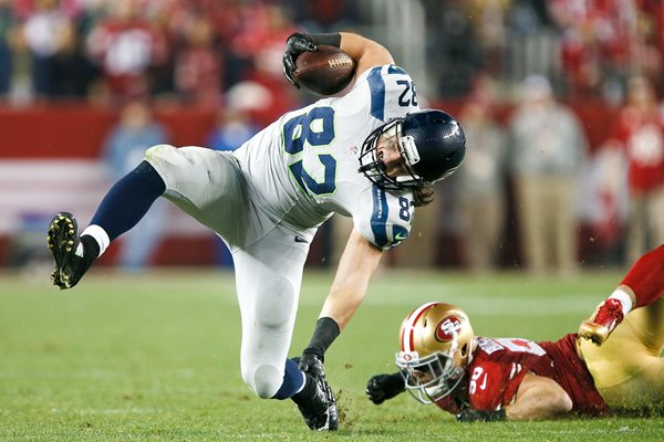 Luke Willson Seahawks v 49ers Levis 2014