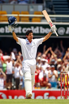 Alastair Cook Double Century Brisbane - 2010 Ashes