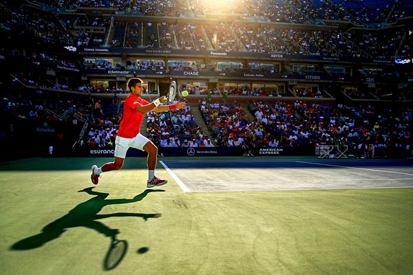 Novak Djokovic forehand - World Press Photo 2014