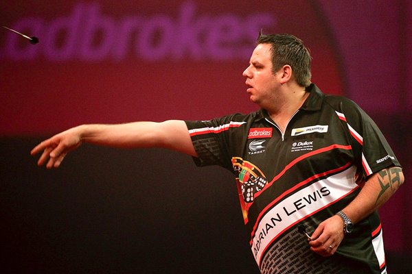 Adrian Lewis World Darts Championship 2013