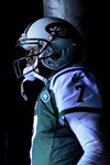 Geno Smith Jets v Dolphins Metlife 2014 Canvas