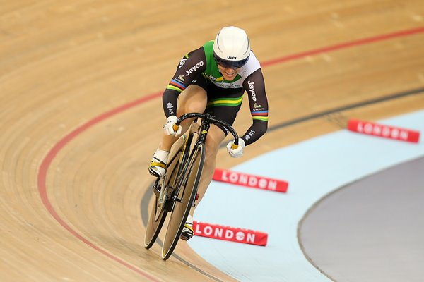 Anna Meares Australia UCI World Cup London 2014