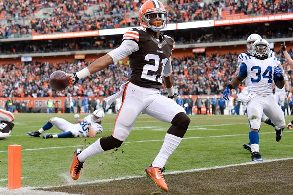 Justin Gilbert Browns v Colts First Energy 2014