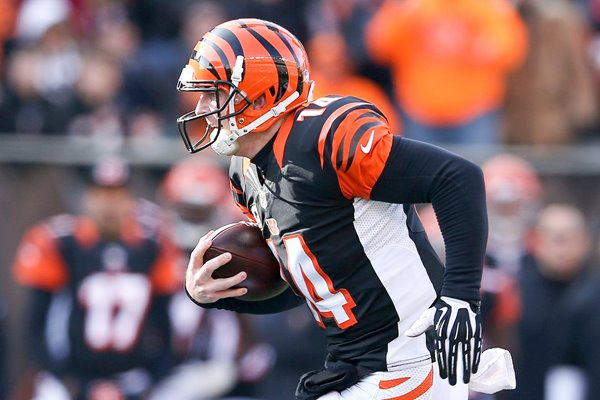 Andy Dalton Bengals v Steelers Paul Brown 2014