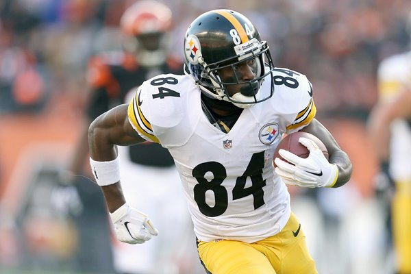 Antonio Brown Pittsburgh Steelers v Cincinnati Bengals