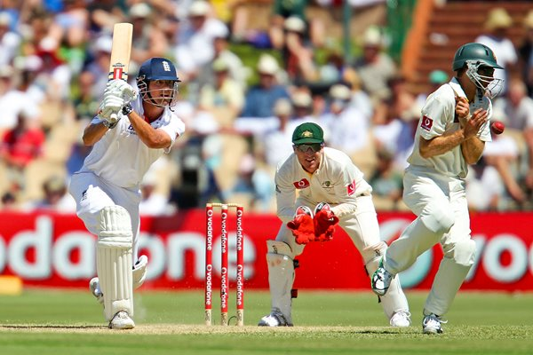 Alastair Cook Adelaide action - 2010 Ashes