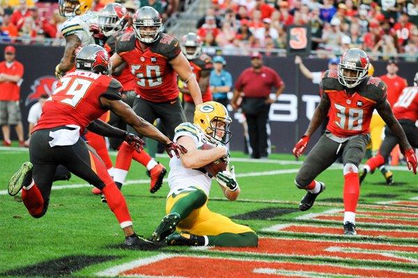 Jordy Nelson Green Bay Packers v Tampa Bay Buccaneers