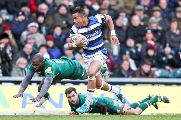 Anthony Watson Leicester Tigers v Bath