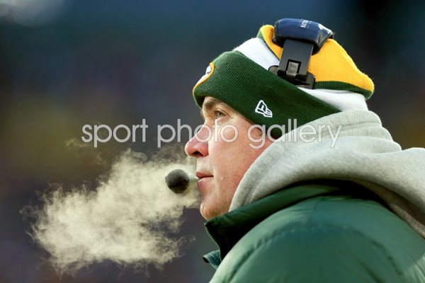 Mike McCarthy Green Bay Packers Head Coach Playoffs 2014