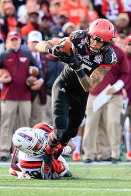 Chris Moore Cincinnati v Virginia Tech military bowl