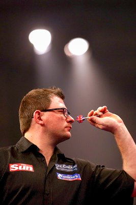 James Wade PDC World Darts Championships 2015